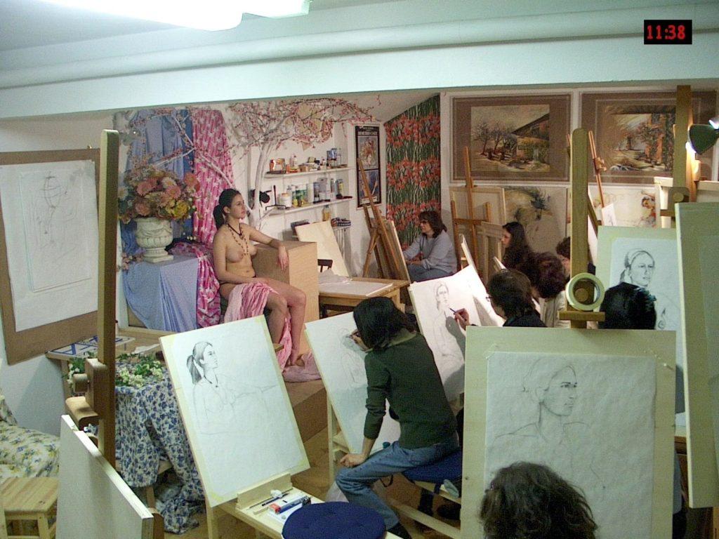 Scuola di Nudo, Bologna, Professor Demetrio Casile